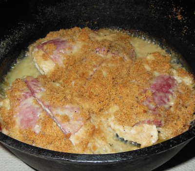 dutch oven chicken cordon bleu recipe