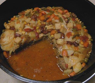 dutch oven hot dish recipe