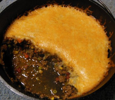 dutch oven shepherd pie recipe