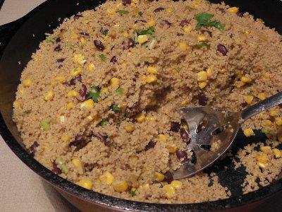 Jamaican Couscous